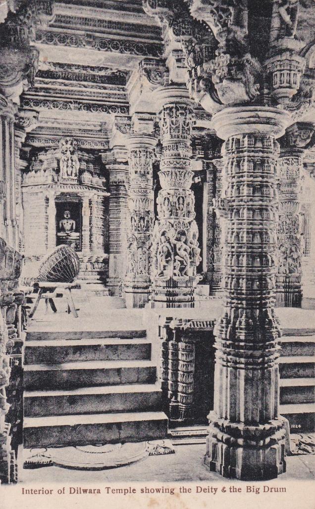 Mt. Abu, Jain Temple, Jainism Postcard