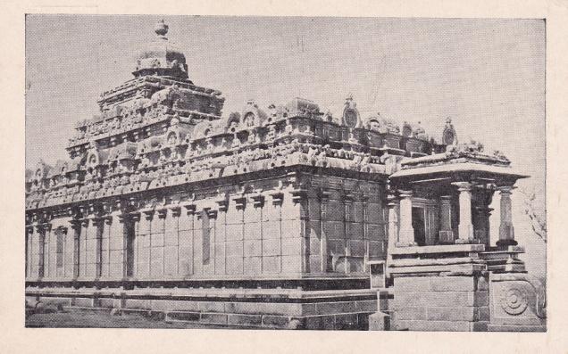 Sravana Belgola, Chamundaraya Basti, Jainism Postcard