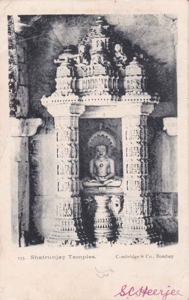 shatrunjaya-jina-jain-temple-jainism-postcard