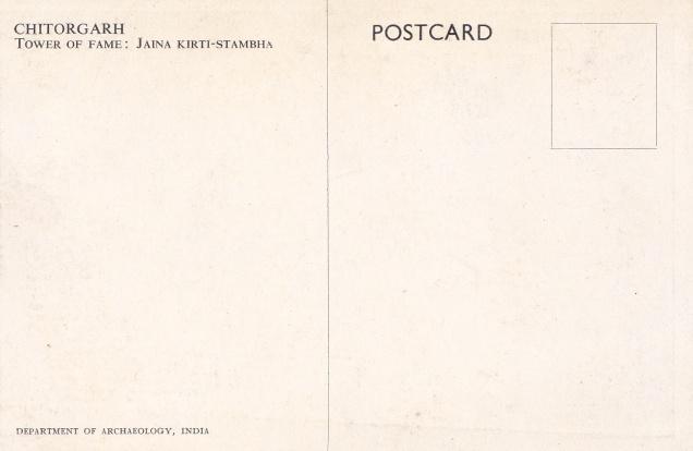 chitorgarh-jain-kirtistambha-jainism-postcardback