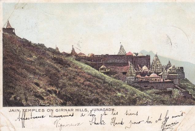 girnar-junagadh-jain-temples-jainism-postcard
