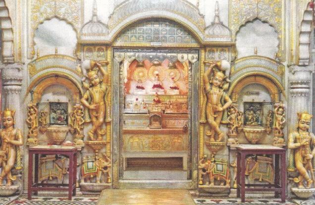 jina-santinatha-with-ganadharas-calcutta-pancayati-jain-temple