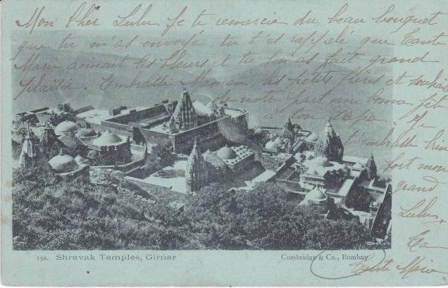 mount-girnar-jain-temples-jainism-postcard