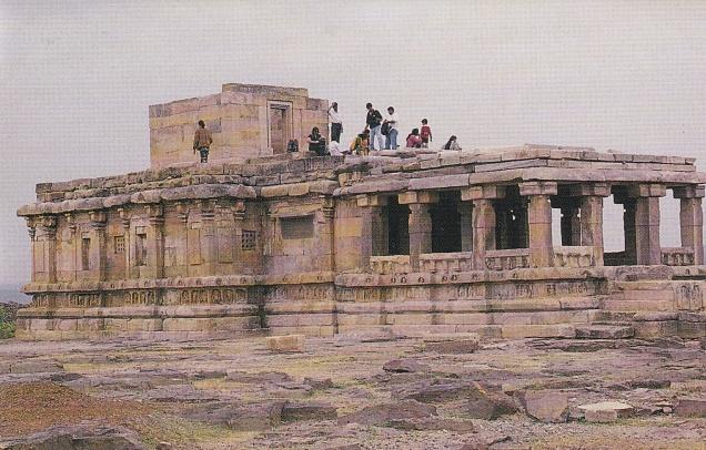 meguti-jain-temple-aihole-aryapura-jainism-postcard