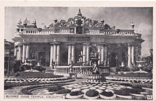 Jain Temple Calcutta Jainism Postcarda
