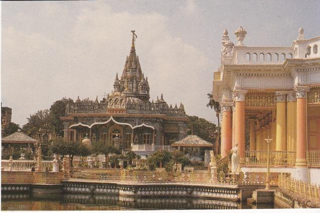 Jain Temple Calcutta Jainism Postcardb