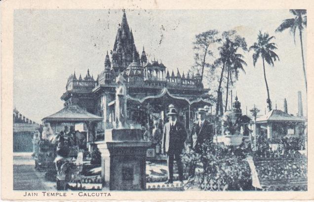 Jain Temple Calcutta Jainism Postcardc
