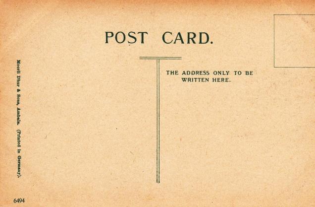 Jain Temple Calcutta Jainism Postcarddback