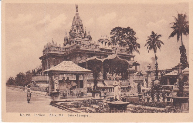 Jain Temple Calcutta Jainism Postcarde