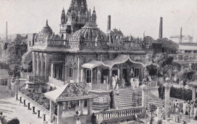 Jain Temple Calcutta Jainism Postcardf