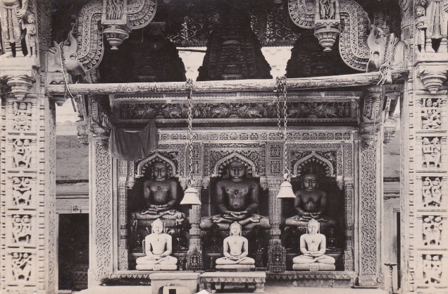 Sanganeer Parshva Jina JainismPostcard2