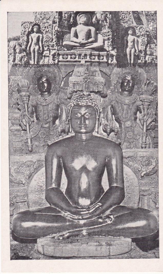 Adeeshwara Swami Sravanabelgola Jainism Postcard