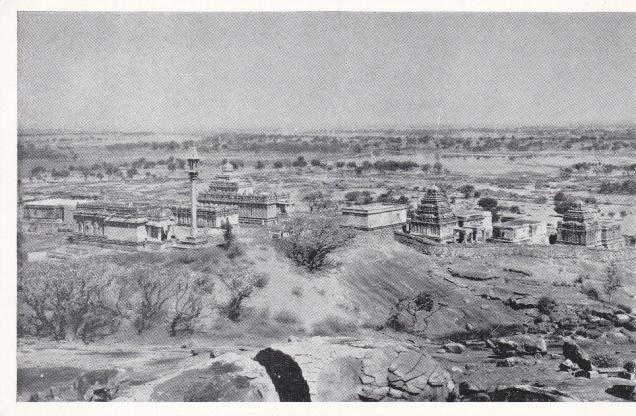 Chikkabetta Hill Temples Sravanabelgola Jainism Postcard