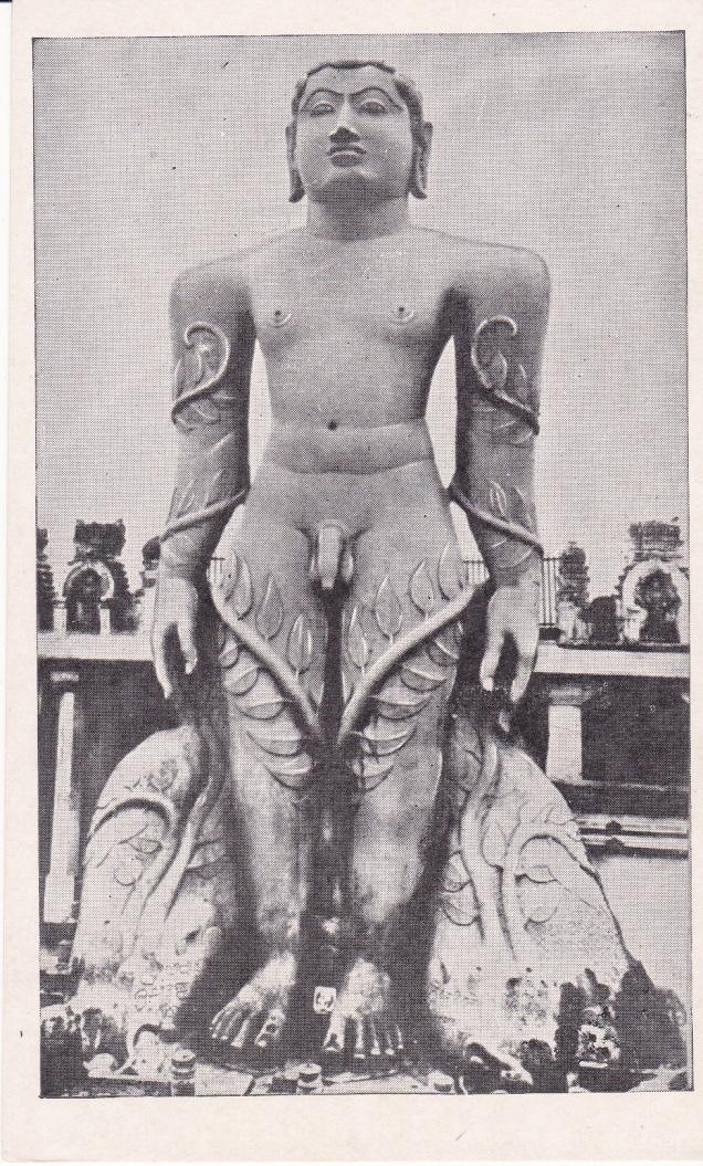 Gomateswara Sravana Belgola Jainism Postcard