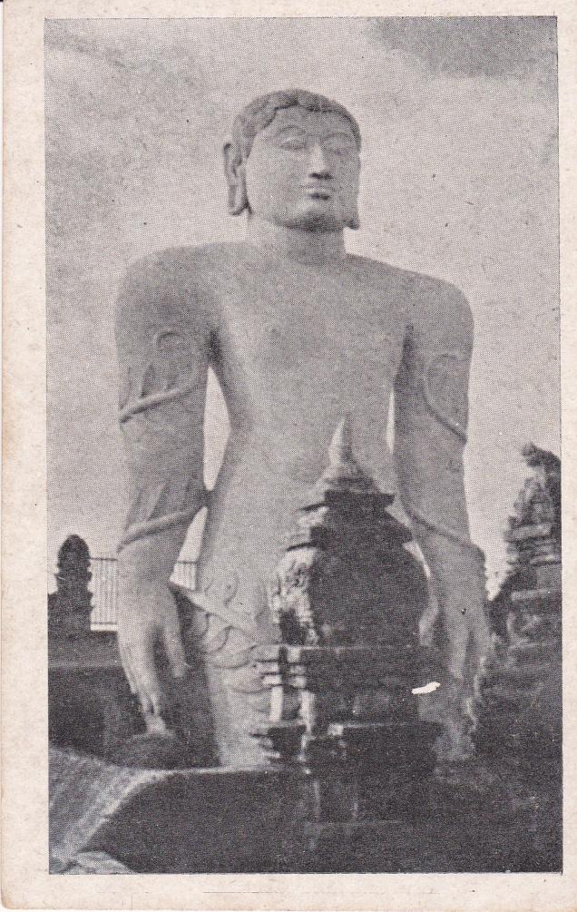Gomteshwarm Sravana Belgola Jainism Postcard