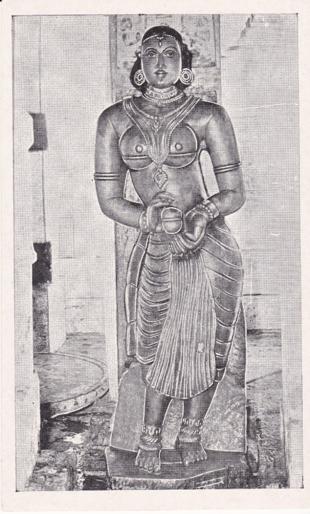 Gulakayajji Sravana Belgola Jainism Postcard