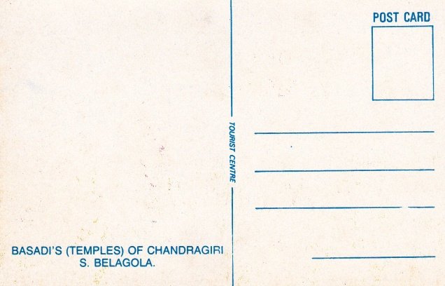 Temples of Chandragiri Shravana Belagolaback