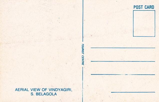 Vindyagiri Shravana Belagolaback