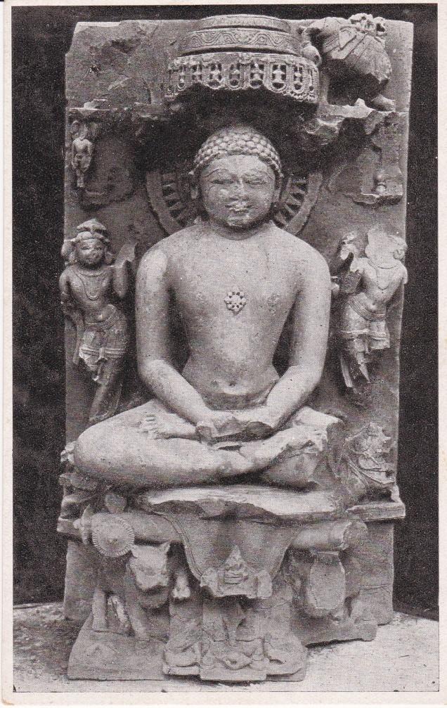 Jina Neminatha Gwalior Museum Jainism Postcard