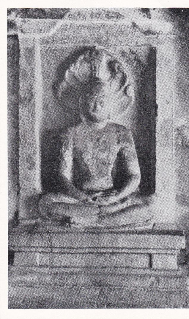 Parsvanatha Sittannavasal Jain cave Jainism Postcard