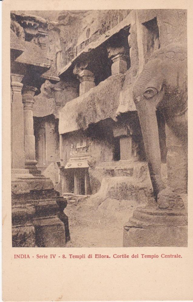 Ellora Jain Cave 32 Italian Missionarya