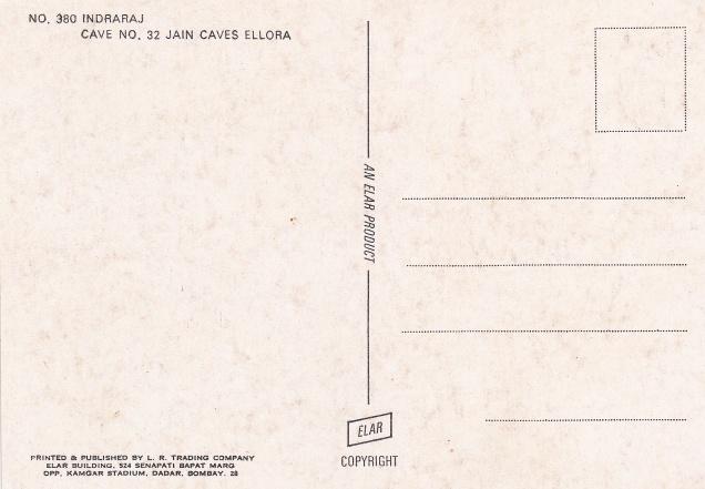 Indra Jain Caves Elloraback
