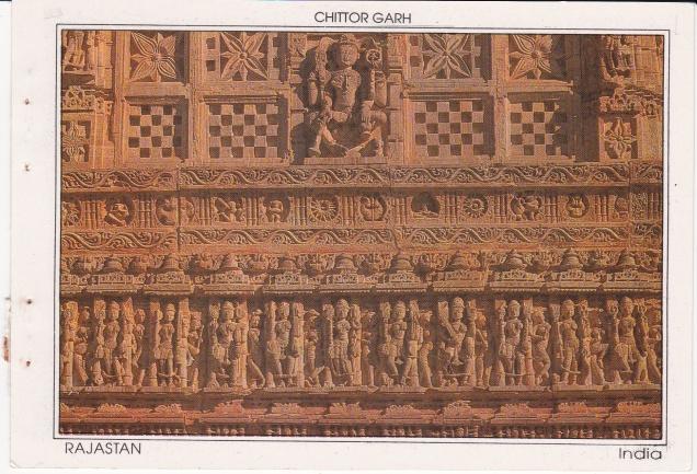 Chittor Garh Jain Temple detail