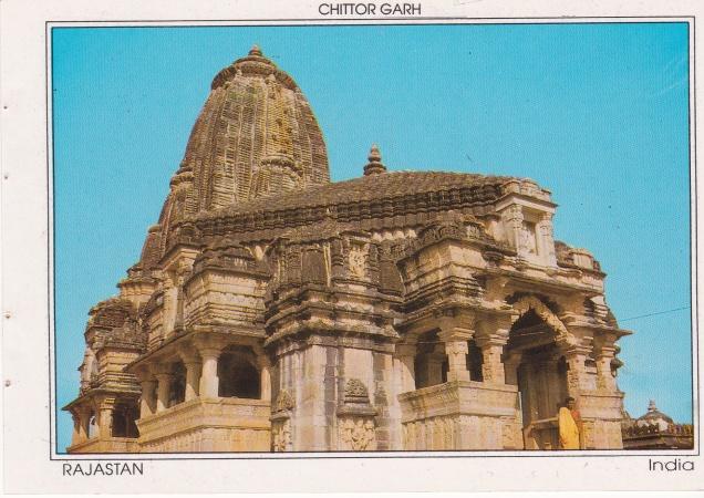 Chittor Garh Jain Templeb