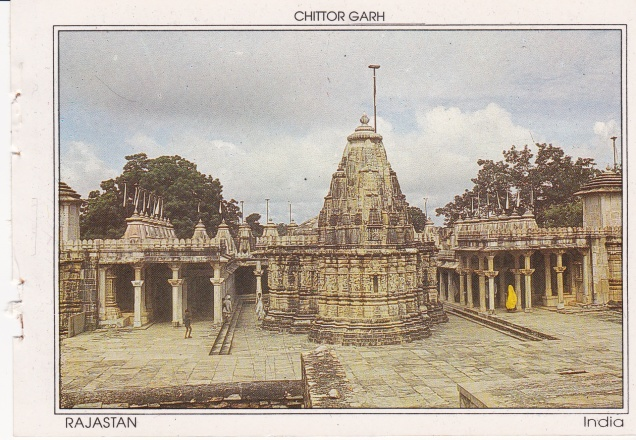 Chittor Garh Jain Templec