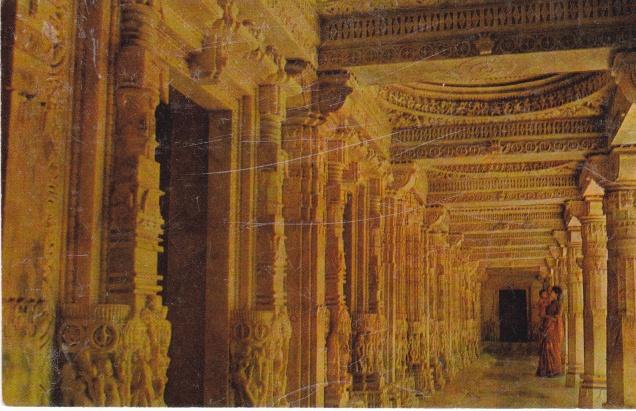 Ranakpur Jain Temple Corridor