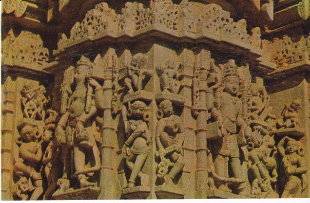 Ranakpur Jain Temple Exterior Carvings