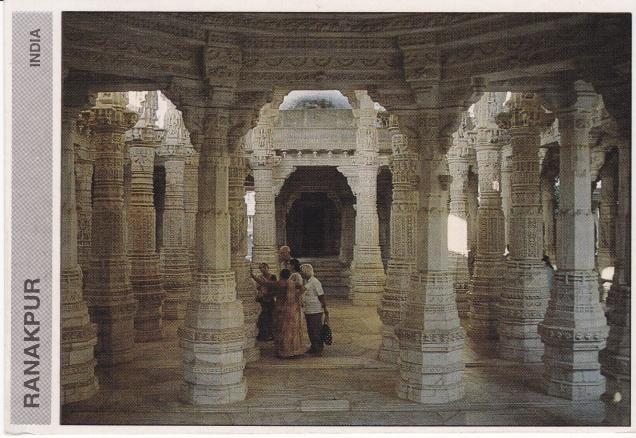 Ranakpur Jain Temple Pillarsb