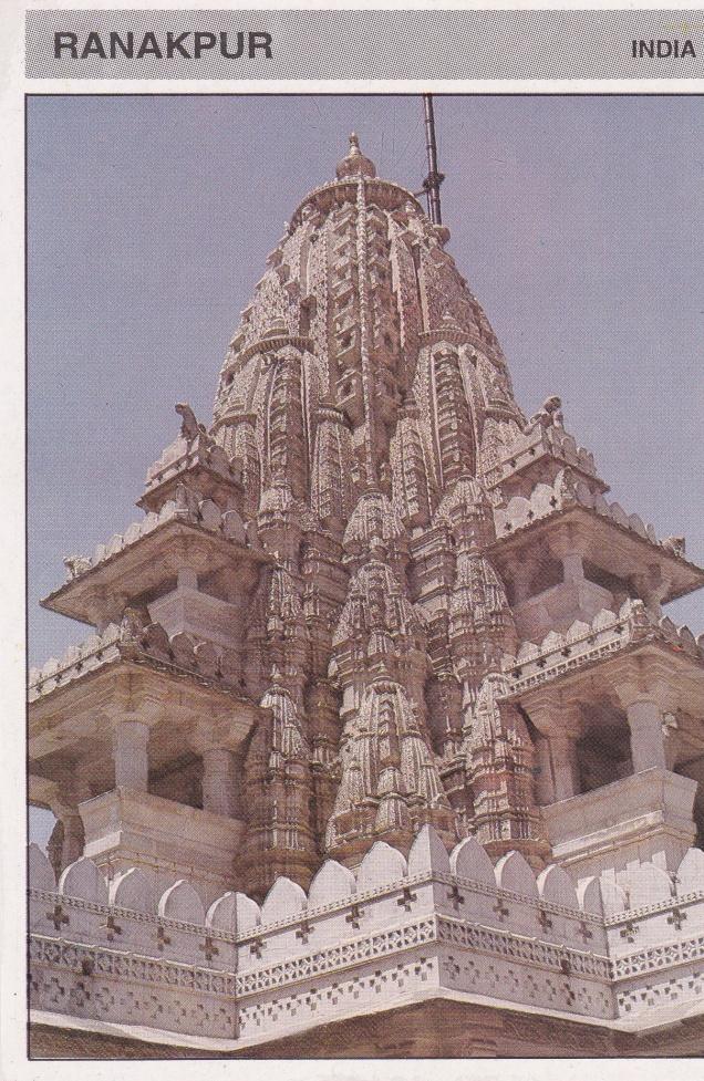 Ranakpur Jain Temple Sikhara