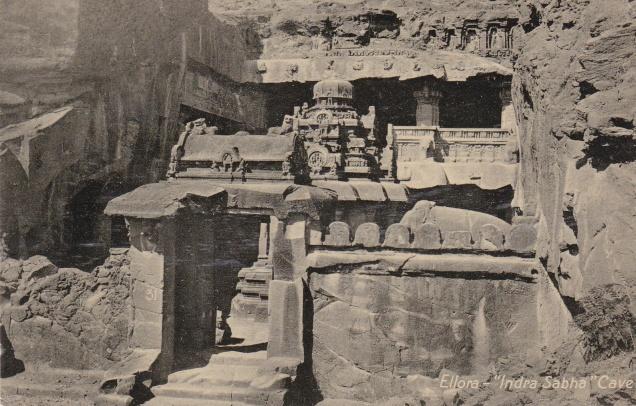 Ellora Jain Cave Indra Sabha