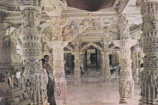 Dilwara Jain Temple Mandir Abu Jainism Postcard