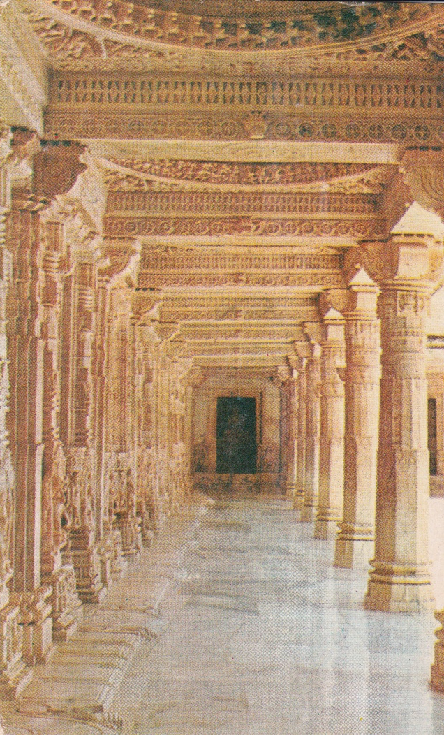 Mount Abu Dilwara Temple Corridor