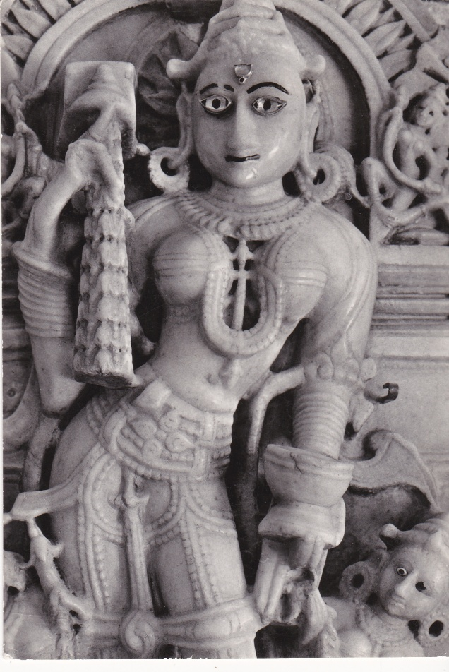 Mount Abu Jain Temple Decorative Figure