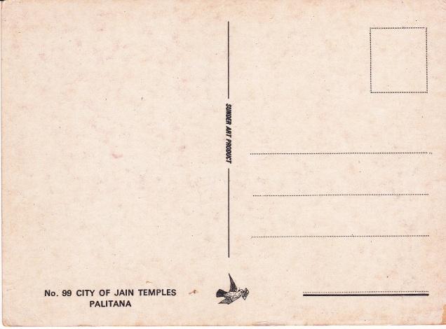 Palitana City of Jain Temples Shatrunjayaback