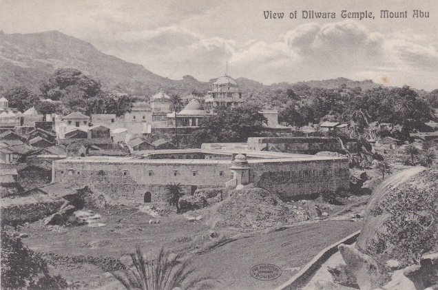 View of Dilwara Temple Mount Abu