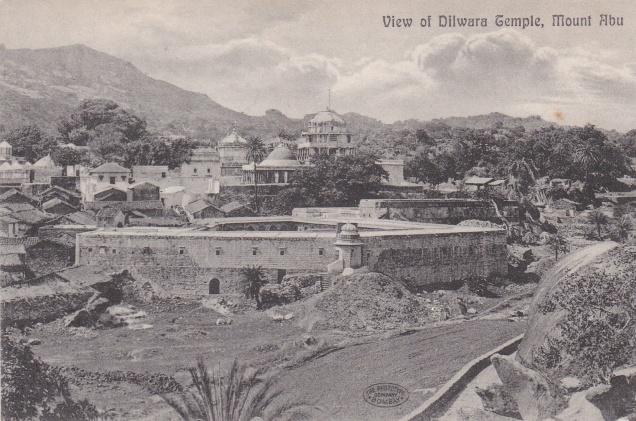 View of Dilwara Temple Mount Abu