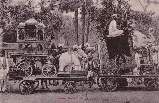 Golden Car Jain Procession