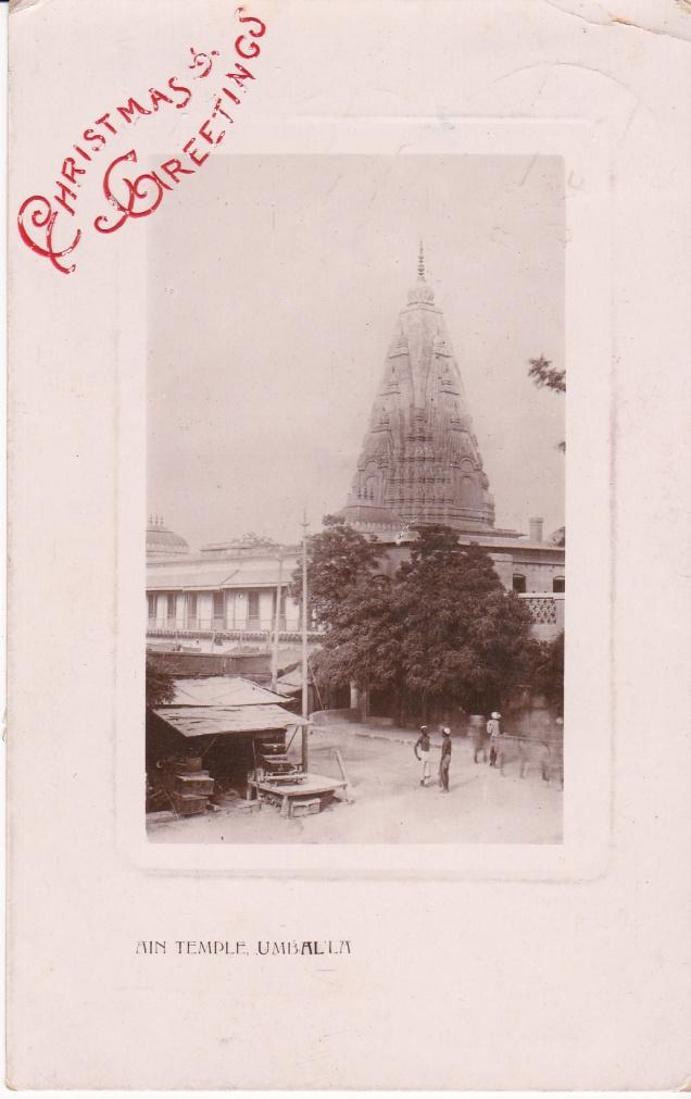 Jain Temple Umballa Christmas Greeting