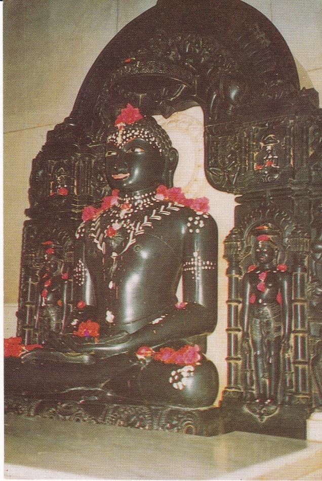 Jina Image Murti in Swetambar Temple Rajgir