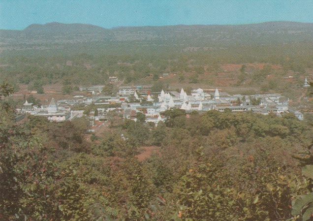 Shikharjee General View from Hill