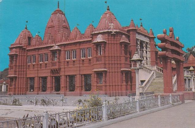 Red Temple Calcutta